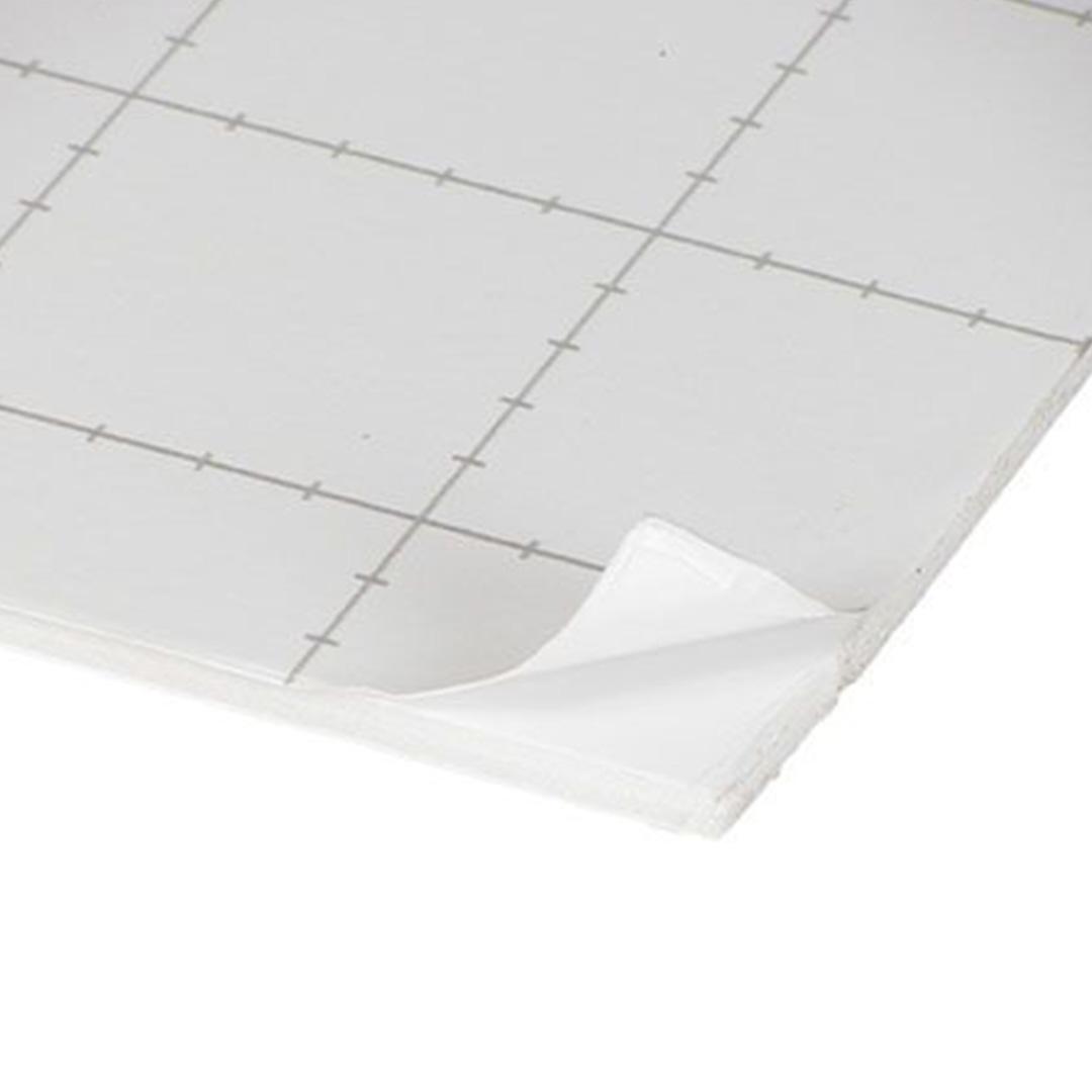 Cartón Pluma Blanco Adhesivo