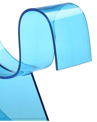 Planchas de Metacrilato azul de Colada