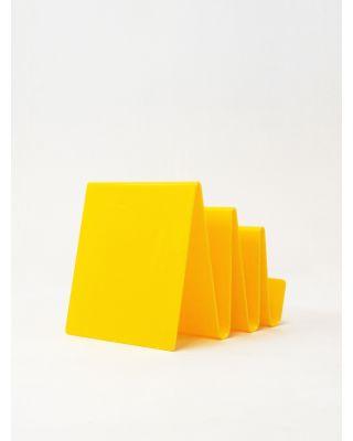 Planchas de Metacrilato amarillas de Colada