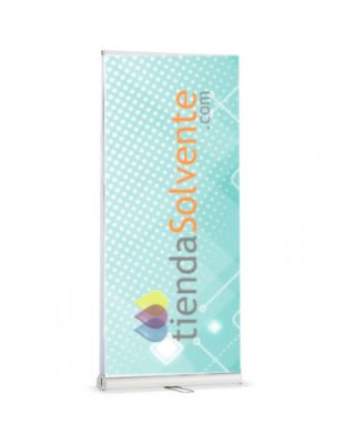 Expositor roll up Doble Cara 0.85 x 2 m